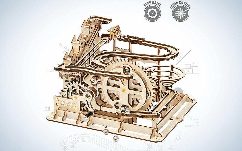 Rokr Mechanical 3D Wooden Puzzle Model Kit