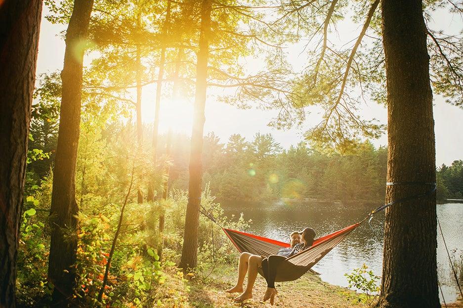 people people in a hammock