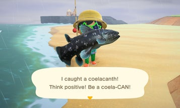 Animal Crossing's most elusive fish has a bizarre real-life backstory