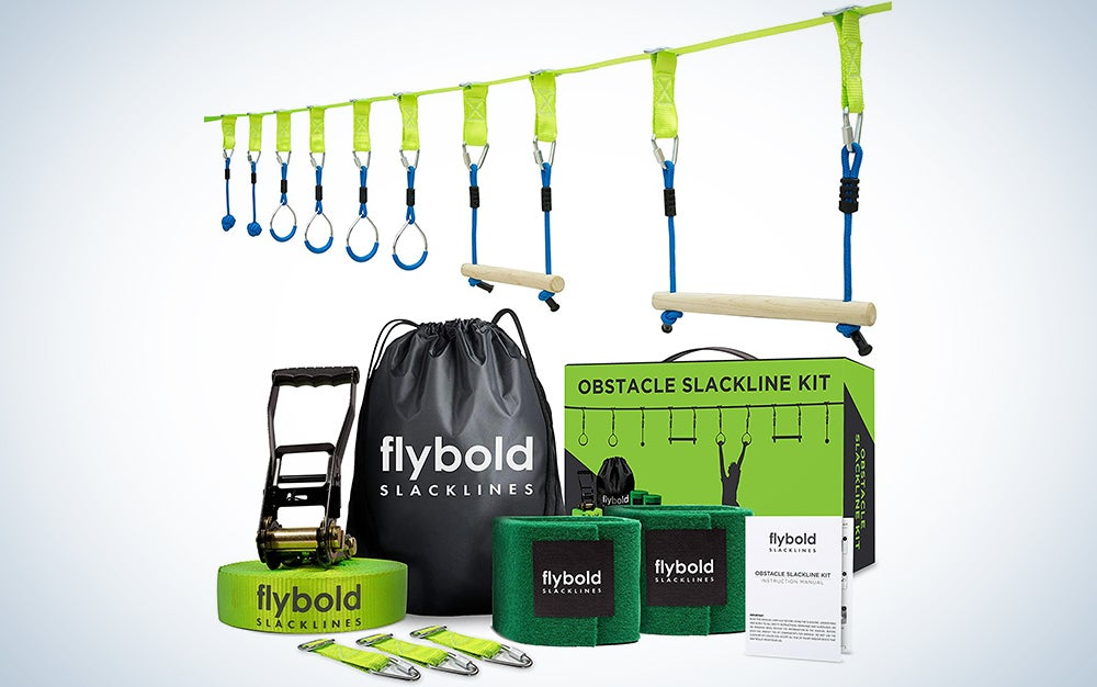 Flybold Ninja Obstacle Course Kit
