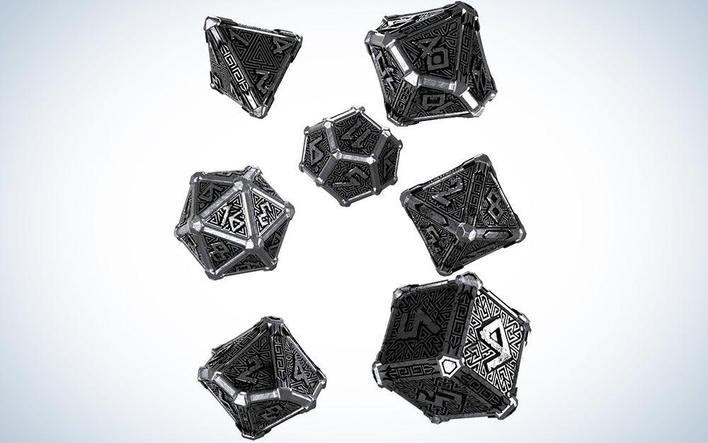 Q-Workshop Metal Mythical Dice Set