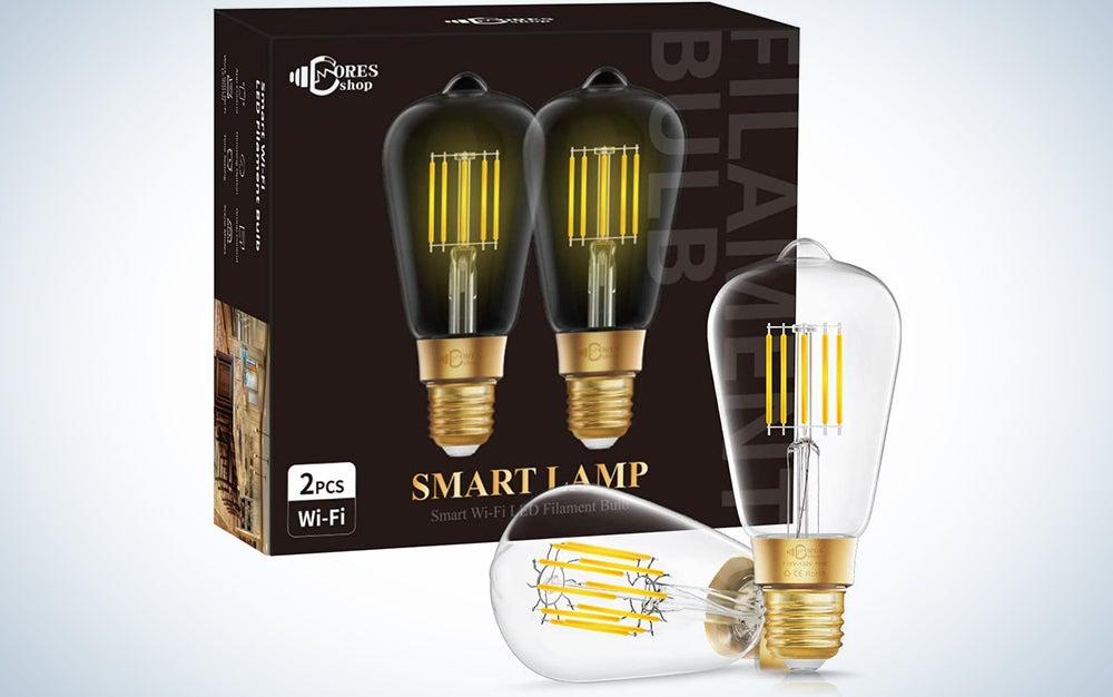 Doresshop Wi-Fi Smart LED Light Bulb
