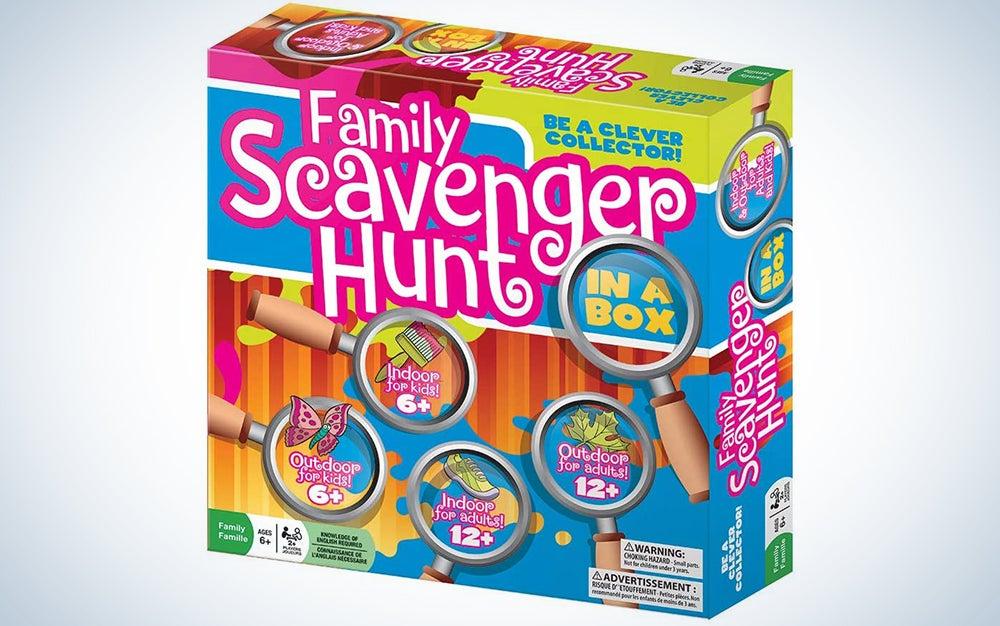 Outset Media Family Scavenger Hunt Game