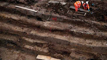 construction dig site