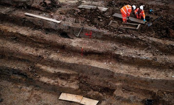 Archaeologists and construction workers are teaming up to unearth historic relics