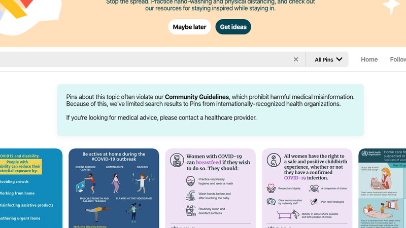 How social media companies are trying to fight coronavirus misinformation