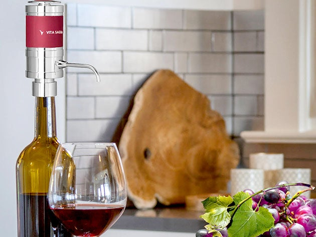 Electric Wine Aerator & Dispenser