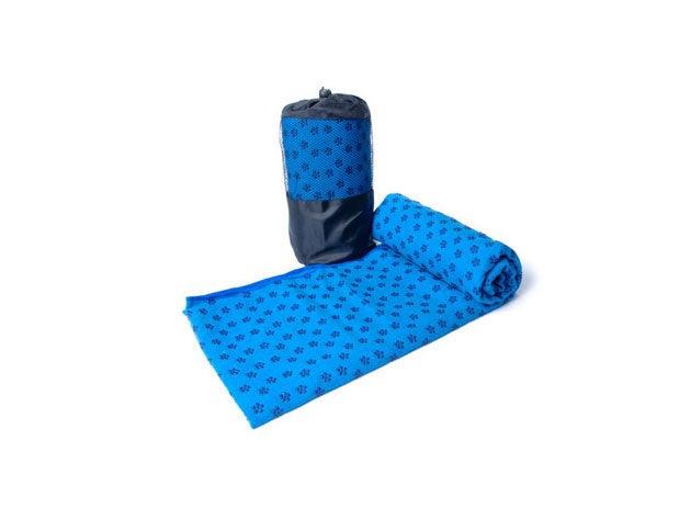 Non-Slip Yoga and Pilates Towel with Bag