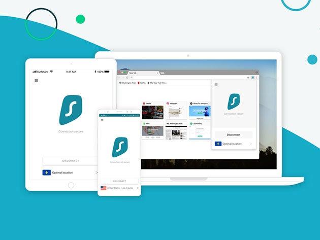 Surfshark VPN: 3-Yr Subscription