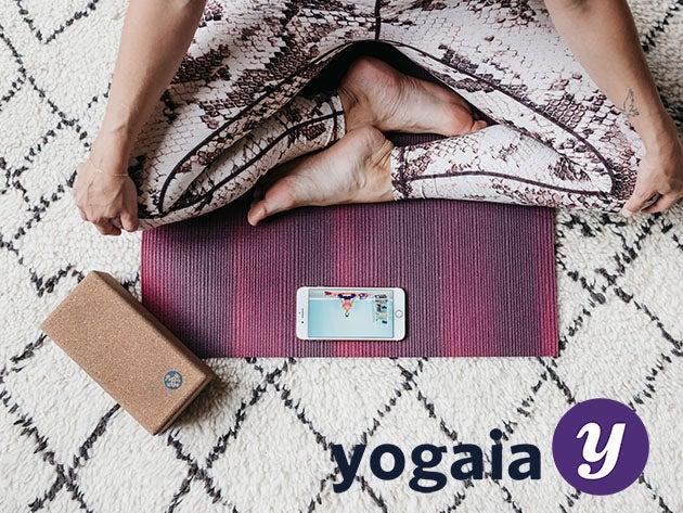 Yogaia Interactive Yoga Classes: Lifetime Subscription