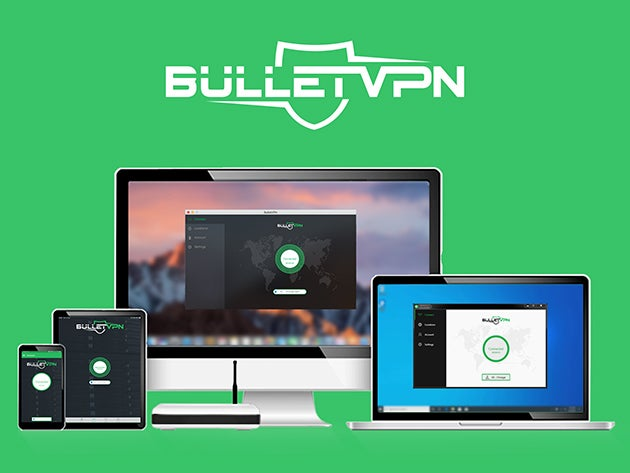 BulletVPN: Lifetime Subscription