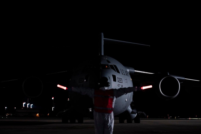 C-17 coronavirus transport