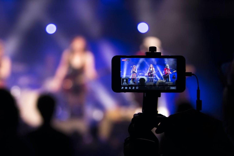 Livestreaming a music show