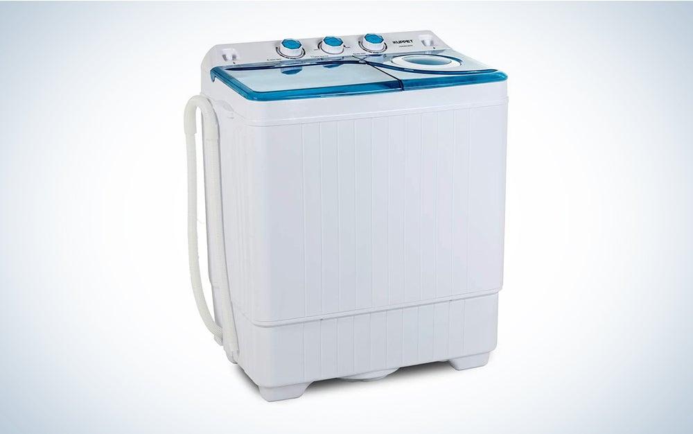 Kuppet Compact Twin Tub Portable Mini Washing Machine