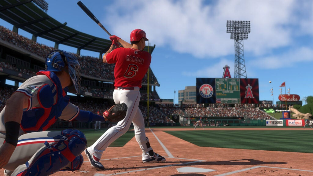 MLB The Show 20 home run