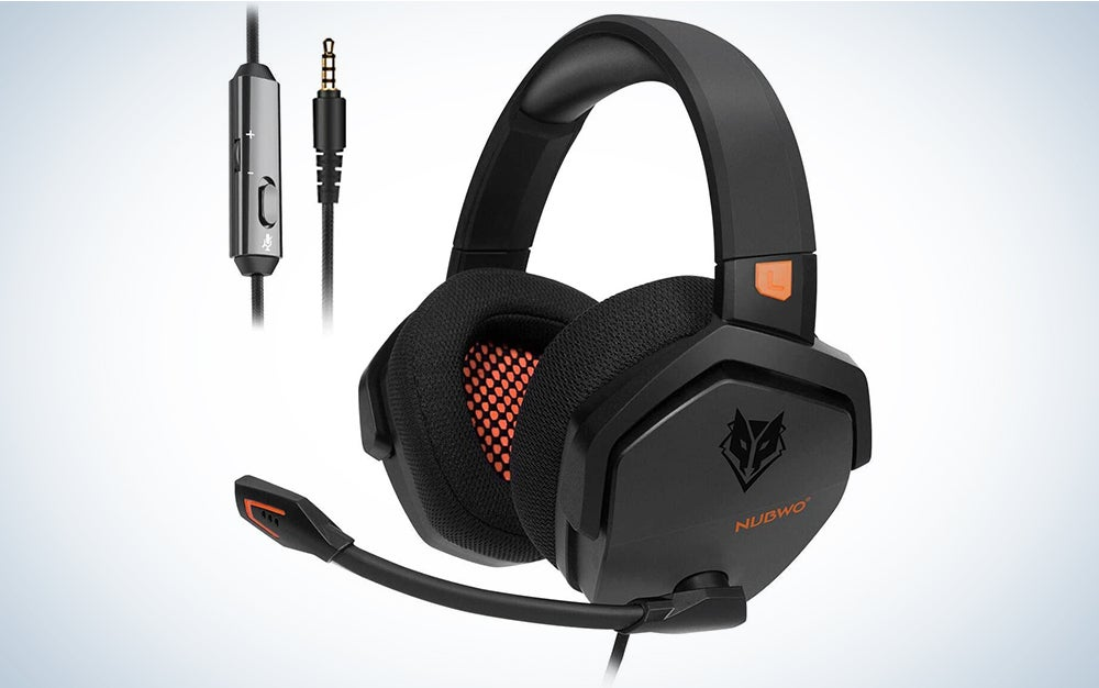 NUBWO PS4 Headset Xbox one Stereo Gaming Headphone with Noise Cancelling with in-line Control for PS4/Xbox 1/PC