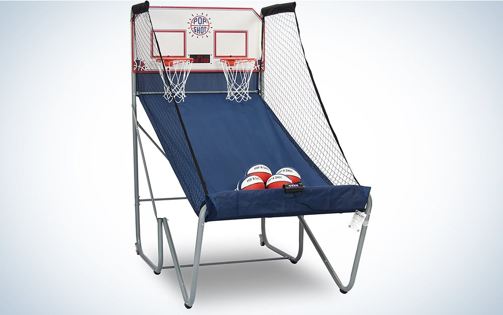Pop-A-Shot New Official Home Dual Shot Basketball Arcade Game