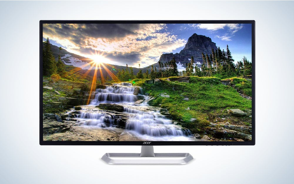 Acer 31.5-Inch IPS Monitor