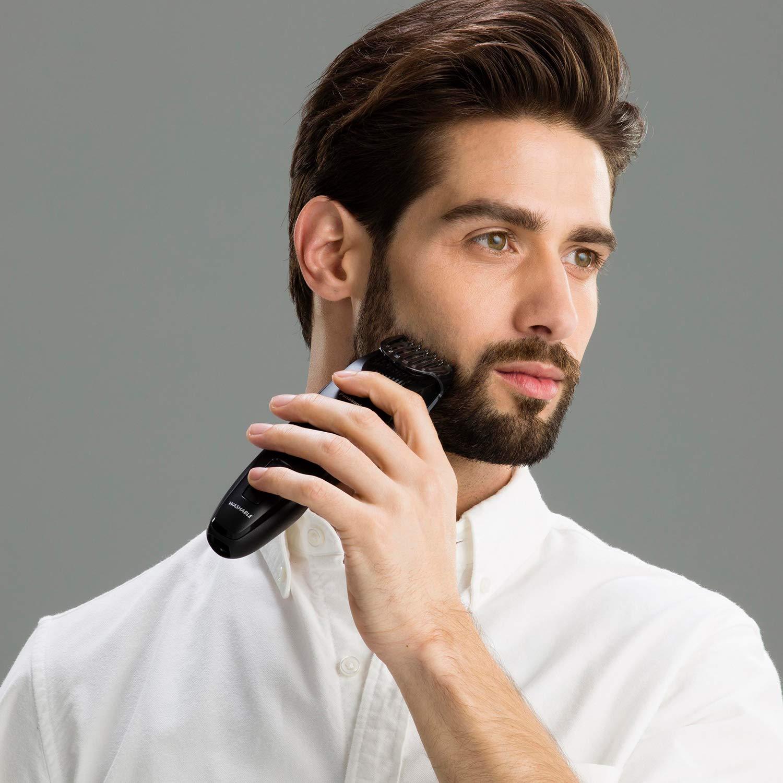guy shaving beard