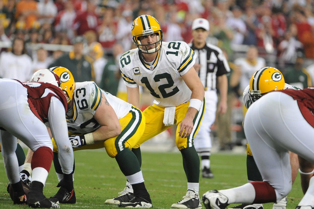 Packers quarterback Aaron Rodgers didn't make the top 20 in the 2005 NFL draft. But he rated high on the Wonderlic test and has taken his team to the Super Bowl.