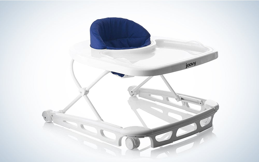 Joovy Spoon Walker, Adjustable Baby Walker, Activity Center