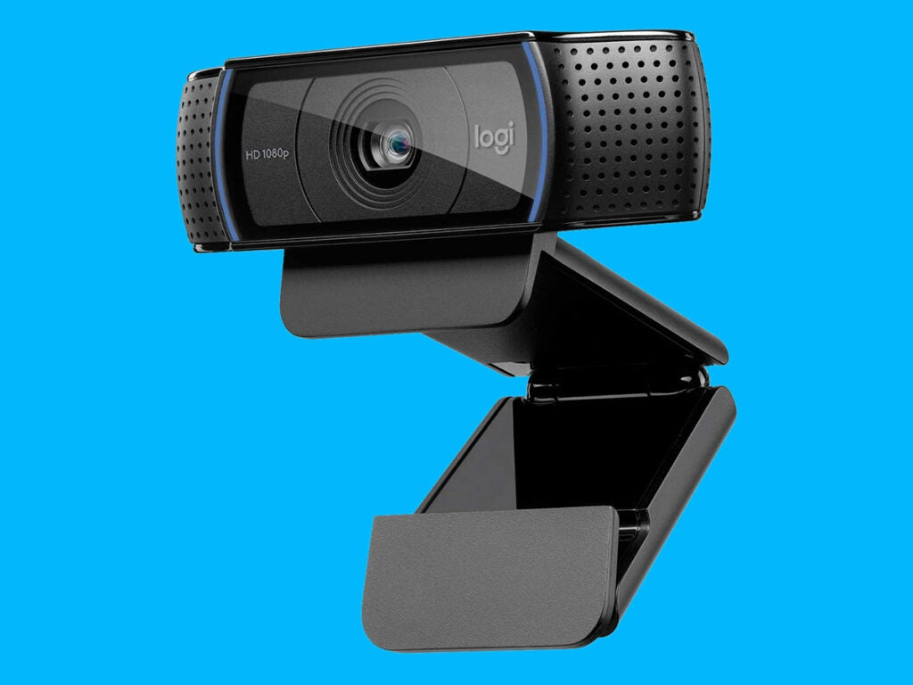 the Logitech HD Pro C920 webcam