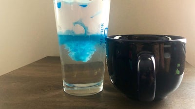 Stay-at-home science project: Whip up a storm in a glass