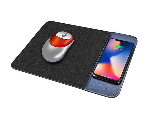 SwissTek Wireless Charging Mouse Pad