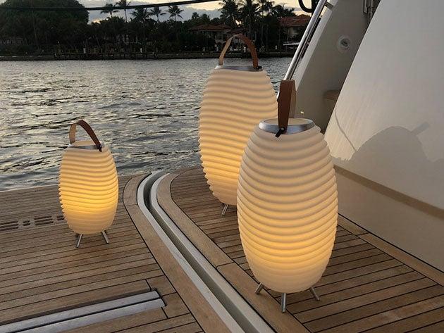 Kooduu: 3-in-1 Designer Lamp, Speaker & Cooler (Synergy Pro 50)