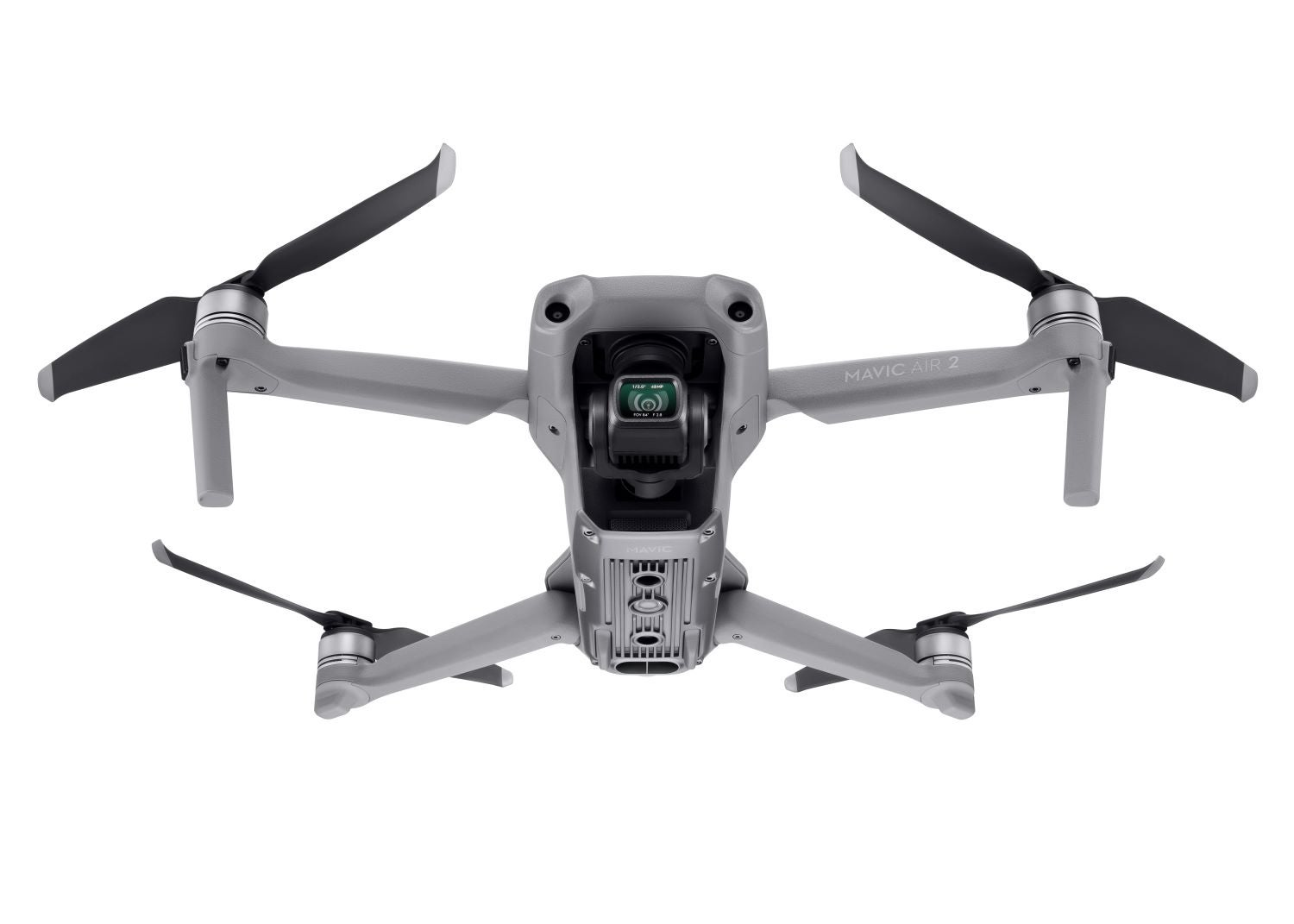 Sensors on the back, front, and bottom help the DJI Mavic Air 2 navigate.