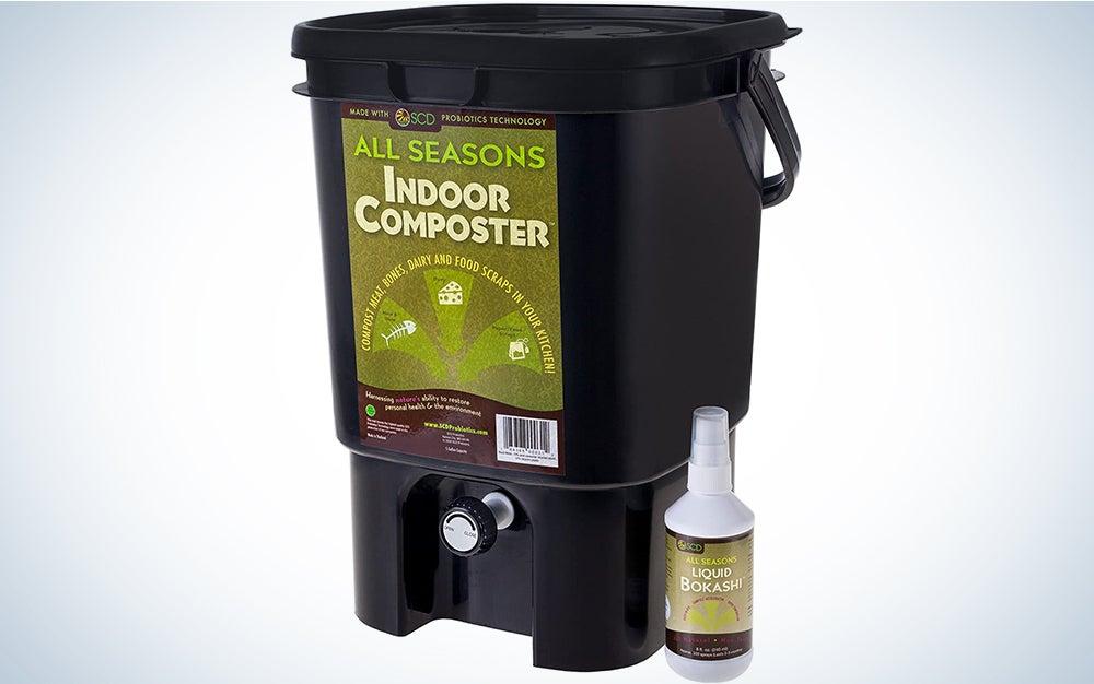 All Seasons SCD Probiotics K201 Indoor Composter Kit