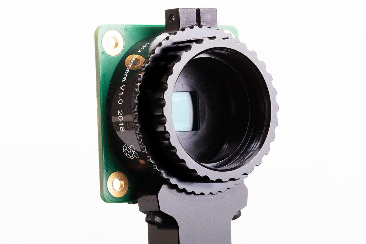 Raspberry Pi camera interchangeable lenses.