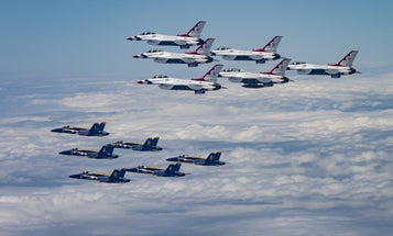 Everything to know about the fighter jets in the 'America Strong'  flyovers