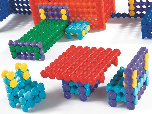 Play-Stick Building Block Assembly Set with