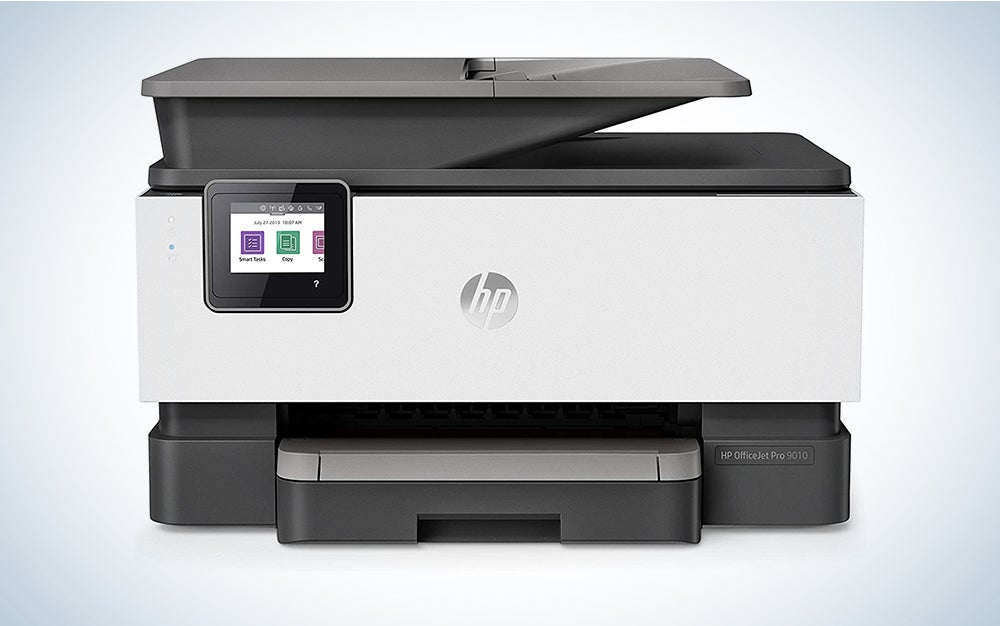 HP OfficeJet Pro 9025 All-in-One Wireless Printer, Instant Ink Ready with 2 Months Trial Included, Print, Scan, Copy from Your Phone and Voice Activated (Works with Google Assistant)