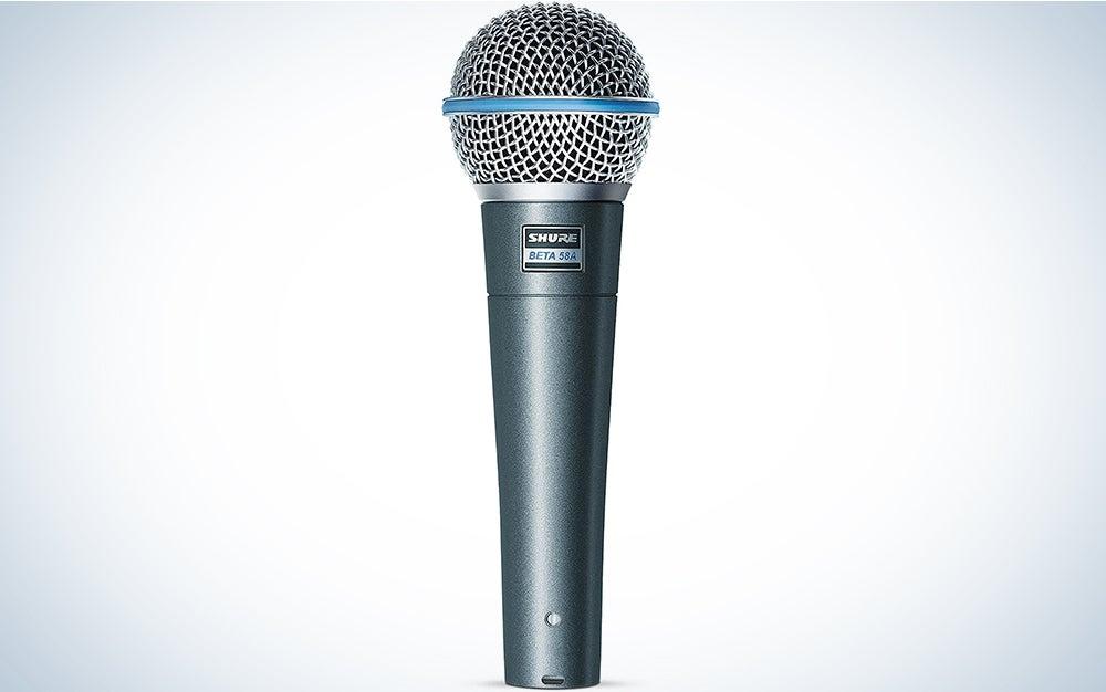 Shure BETA 58A Supercardioid Dynamic Vocal Microphone