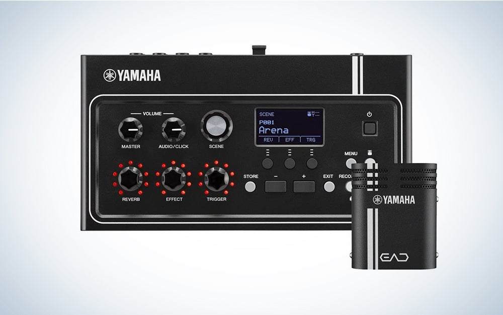 Yamaha EAD10 Electronic-Acoustic Drum Module with Stereo Microphone and Trigger
