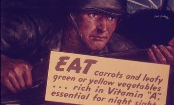 Carrots were once a crucial tool in anti-Nazi propaganda