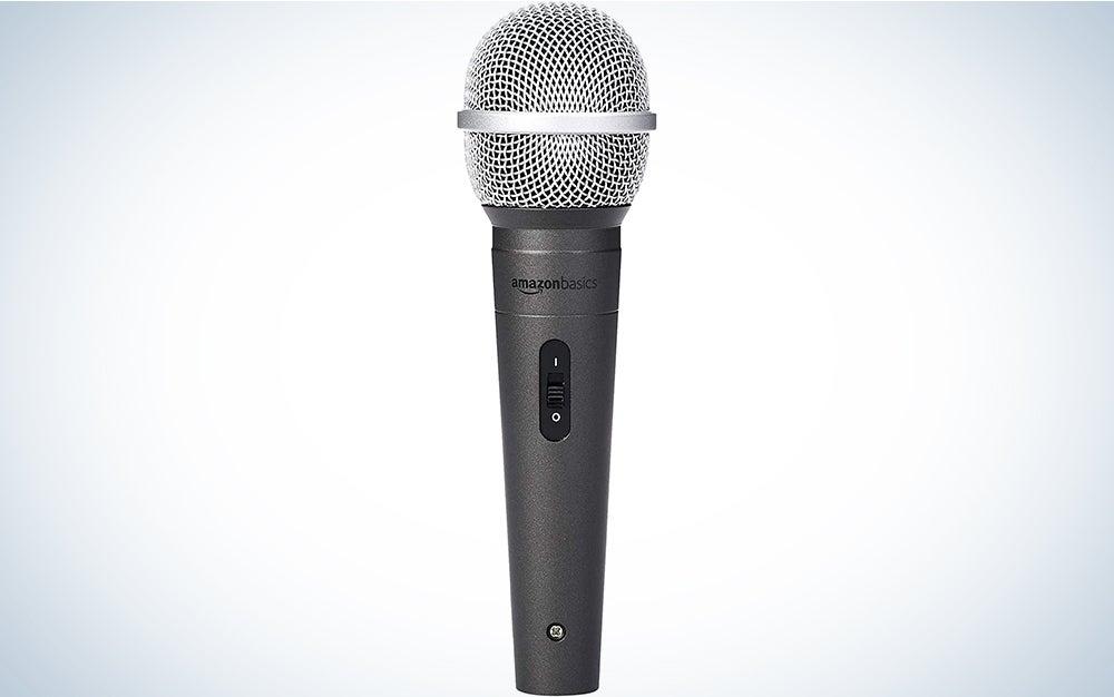 AmazonBasics Dynamic Vocal Microphone