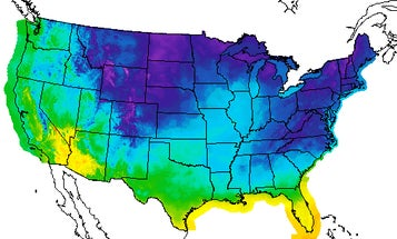 The polar vortex is bringing snow to the US this weekend, because chaos loves company