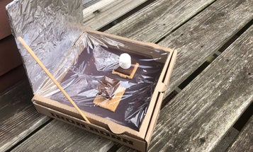 Stay-at-home science project: Bake s'mores using the power of the sun