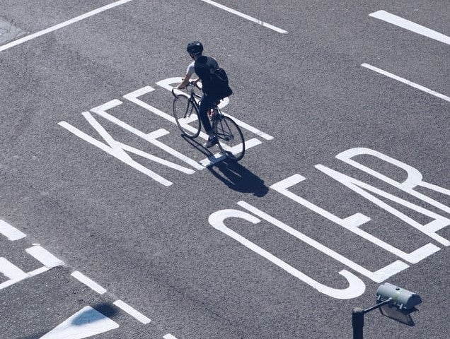 Break away from the pack and try a solo ride. And practice bike safety while you're at it.