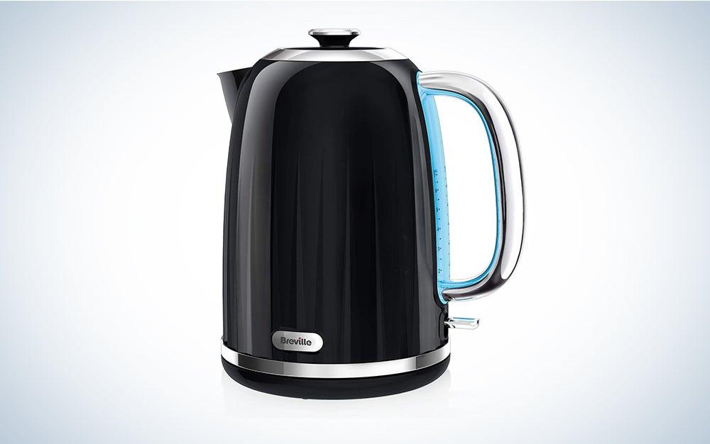 Breville Impressions Electric Kettle, 1.7 Litre, 3 KW Fast Boil, Black