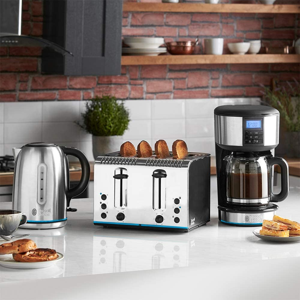 appliances on a counter