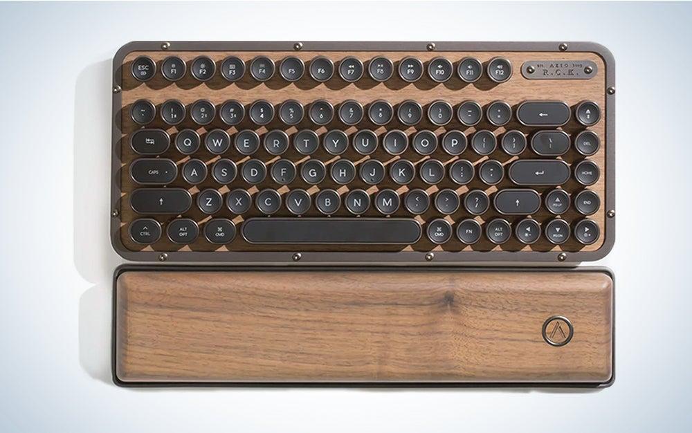 Azio MK-RCK-W-01-US Retro Compact Keyboard