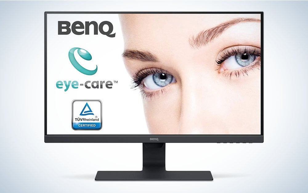 BenQ 27 Inch IPS Monitor | 1080P | Proprietary Eye-Care Tech | Ultra-Slim Bezel | Adaptive Brightness for Image Quality | Speakers | GW2780