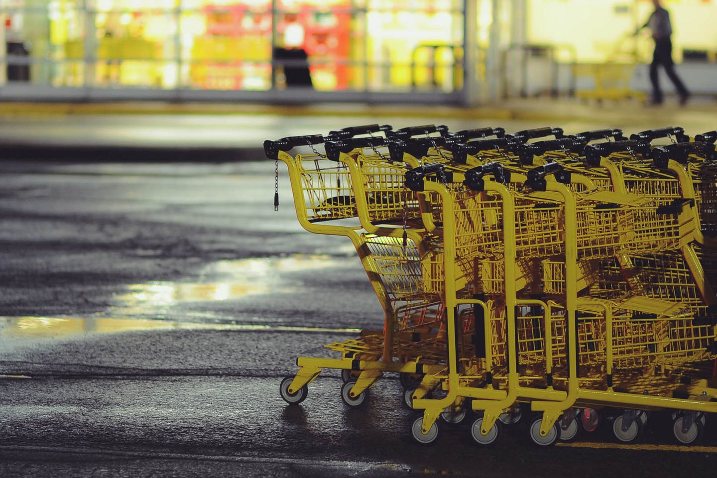 grocery store carts