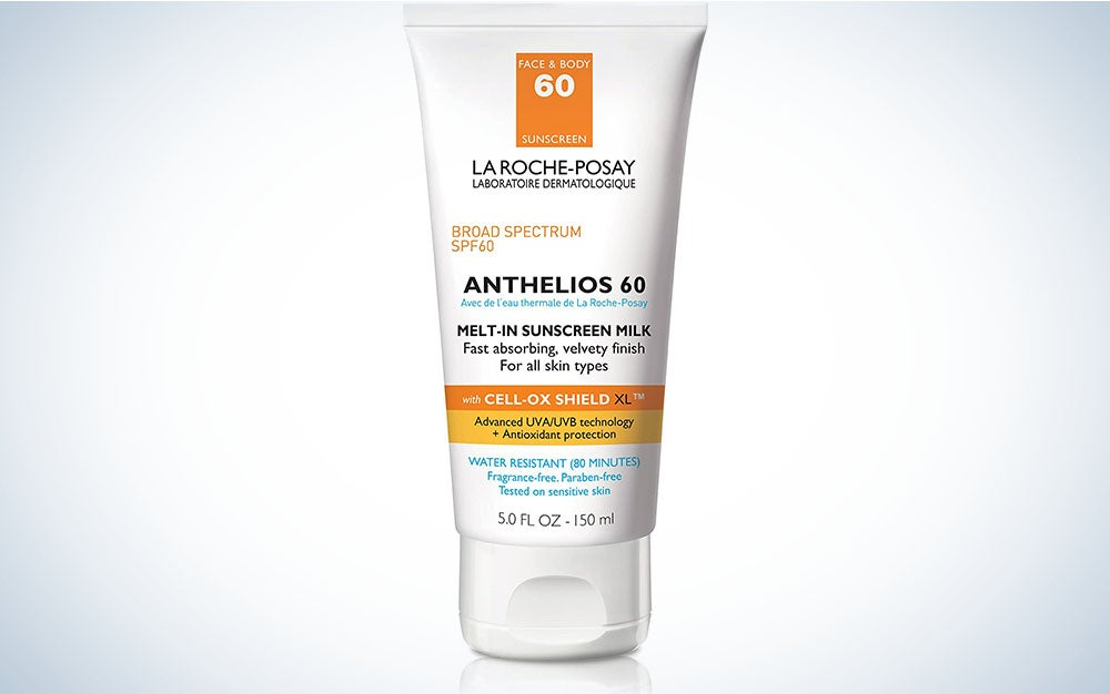 La Roche-Posay Anthelios Melt-In Sunscreen Milk Body & Face Sunscreen Lotion