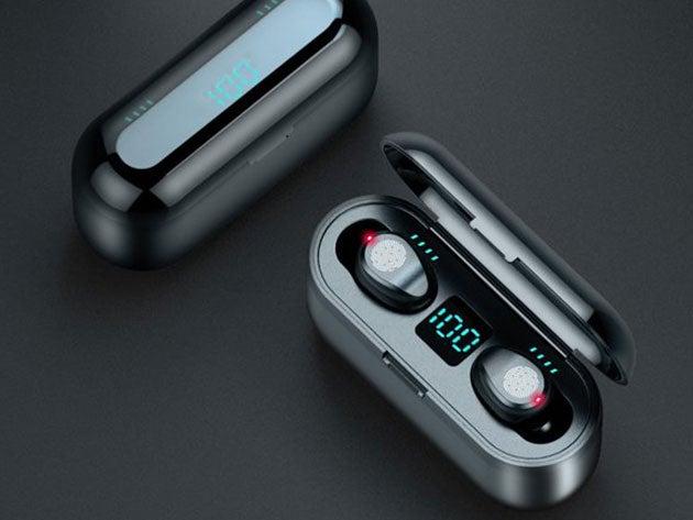 F9 TWS Wireless Headset with 2,000mAh Power Bank Case
