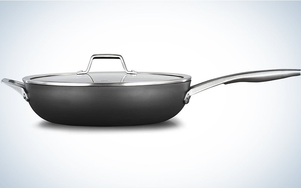Calphalon Nonstick 13-Inch Deep Skillet With Cover